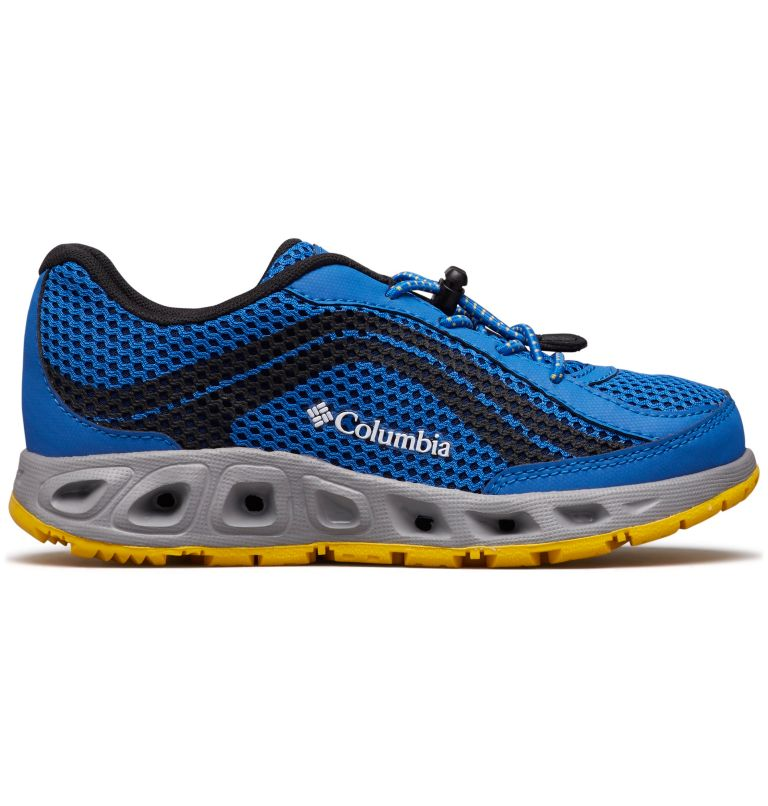 CHILDRENS DRAINMAKER™ IV | 426 | 13 Chaussures Drainmaker™ IV Enfant, Stormy Blue, Deep Yellow, front