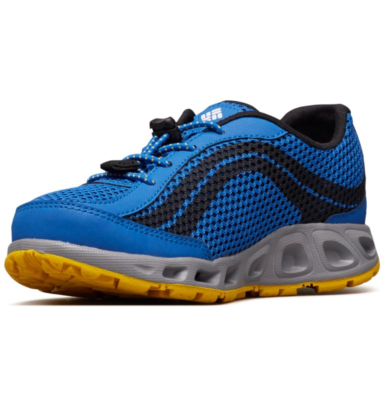 CHILDRENS DRAINMAKER™ IV | 426 | 13 Chaussures Drainmaker™ IV Enfant, Stormy Blue, Deep Yellow