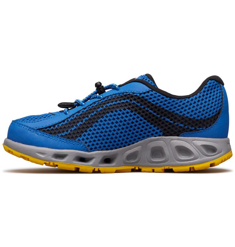 CHILDRENS DRAINMAKER™ IV | 426 | 13 Chaussures Drainmaker™ IV Enfant, Stormy Blue, Deep Yellow, medial