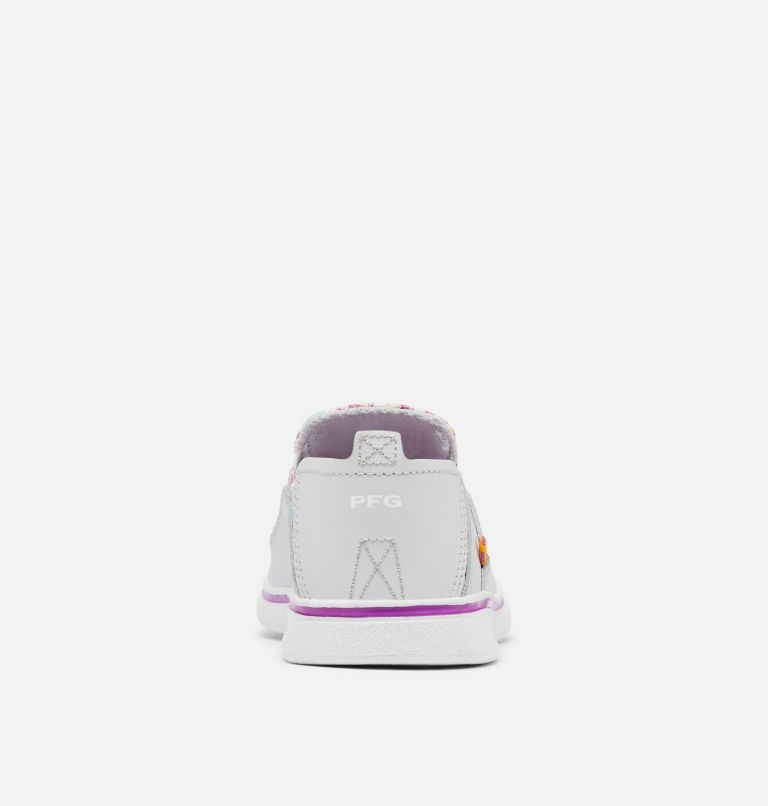 YOUTH BAHAMA™ PFG | 064 | 3 Big Kids' Bahama™ PFG Shoe, Grey Ice, Bright Plum, back