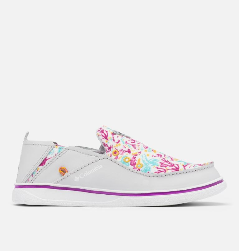 YOUTH BAHAMA™ PFG | 064 | 3 Big Kids' Bahama™ PFG Shoe, Grey Ice, Bright Plum, front