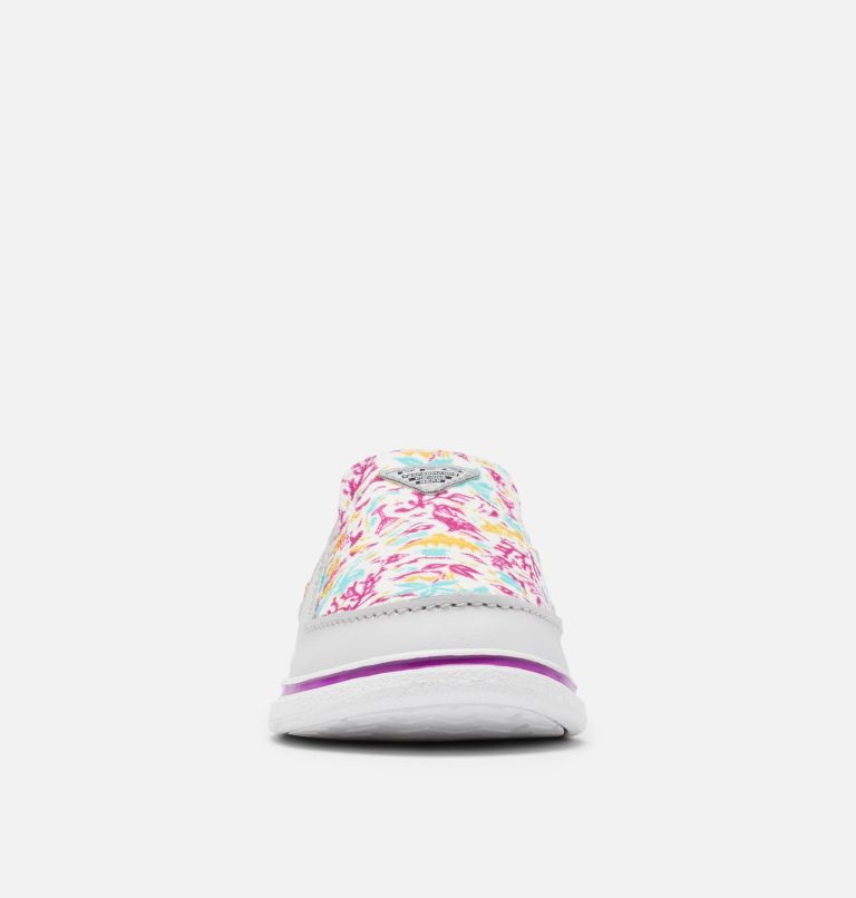 YOUTH BAHAMA™ PFG | 064 | 3 Big Kids' Bahama™ PFG Shoe, Grey Ice, Bright Plum, toe