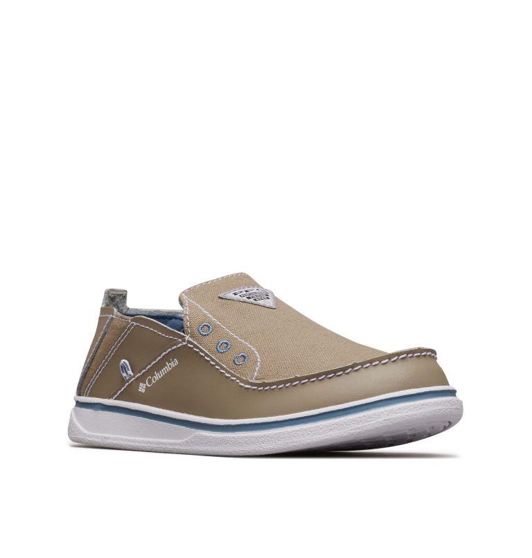 YOUTH BAHAMA™ PFG | 227 | 6 Big Kids' Bahama™ PFG Shoe, Pebble, White, 3/4 front