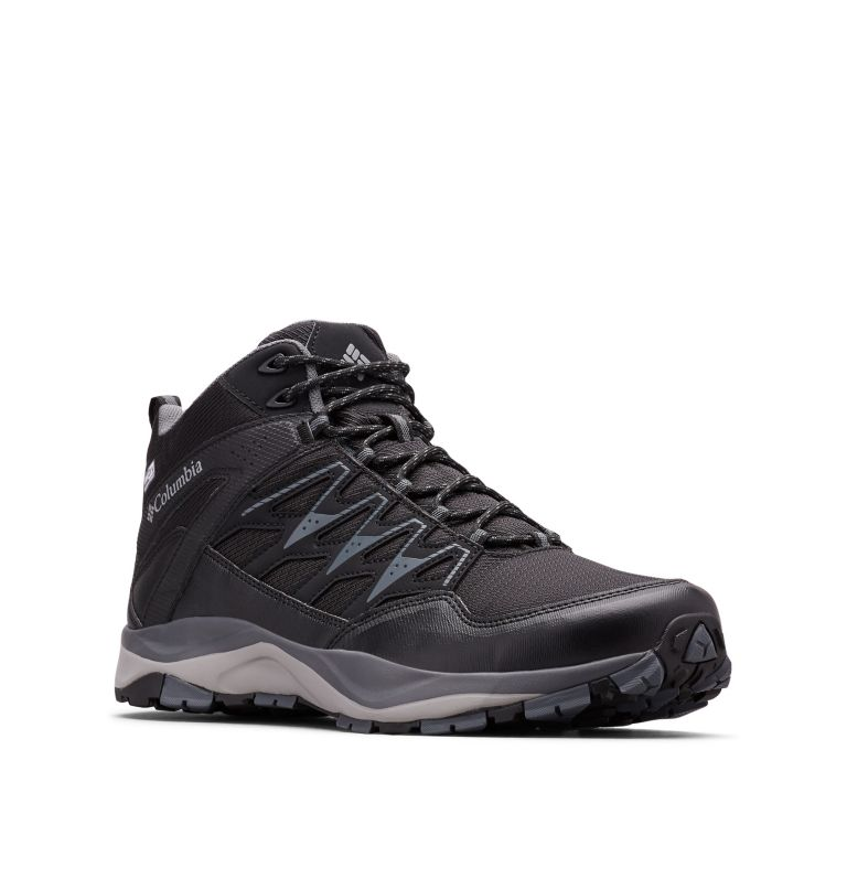 WAYFINDER™ MID OUTDRY™ | 012 | 11.5 Men's Wayfinder™ Mid OutDry™ Boot, Black, Steam, 3/4 front