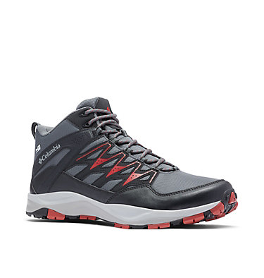 Men's Wayfinder™ Mid OutDry™ Boot WAYFINDER™ MID OUTDRY™ | 012 | 10, Graphite, Red Velvet, 3/4 front