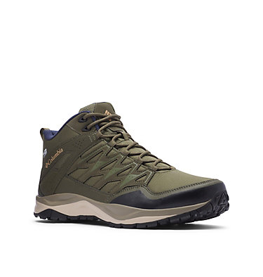 Men's Wayfinder™ Mid OutDry™ Boot WAYFINDER™ MID OUTDRY™ | 012 | 10, Hiker Green, Light Curry, 3/4 front