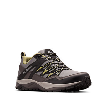 Men's Wayfinder™ OutDry™ Shoe WAYFINDER™ OUTDRY™ | 034 | 7, Ti Grey Steel, Cool Moss, 3/4 front