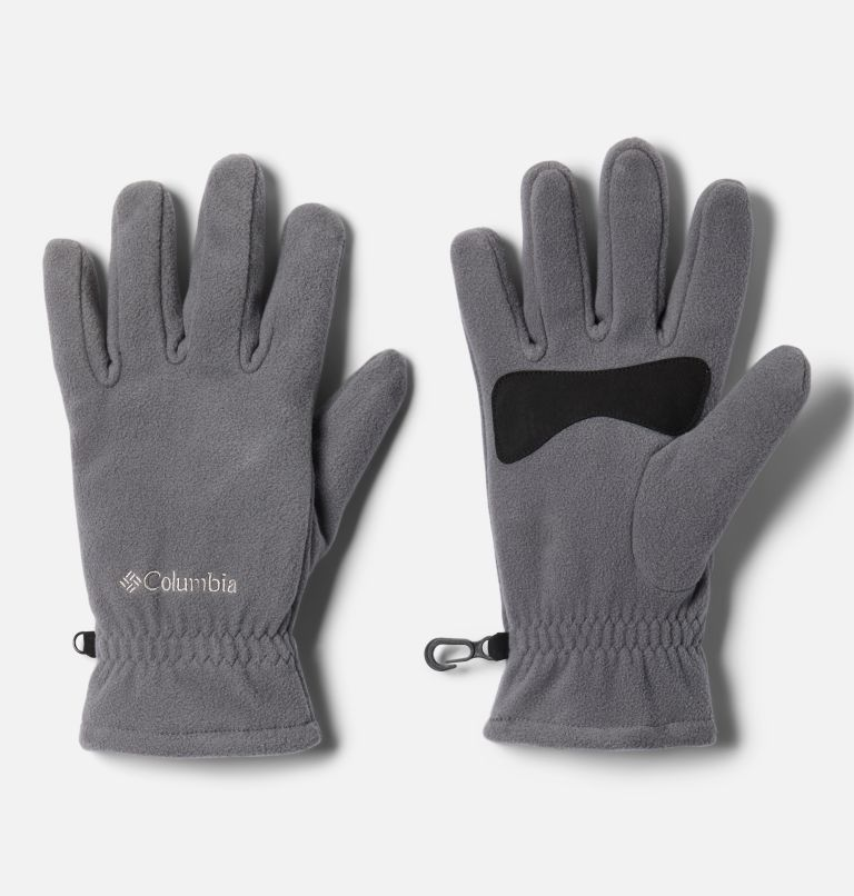M Fast Trek™ Glove | 023 | S Men's Fast Trek™ Fleece Gloves, City Grey, front
