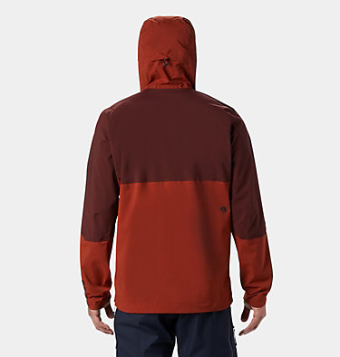 Men's Exposure/2™ Gore-Tex Paclite® Stretch Pullover Exposure/2™ Gore-Tex® Paclite  | 801 | L, Rusted, back