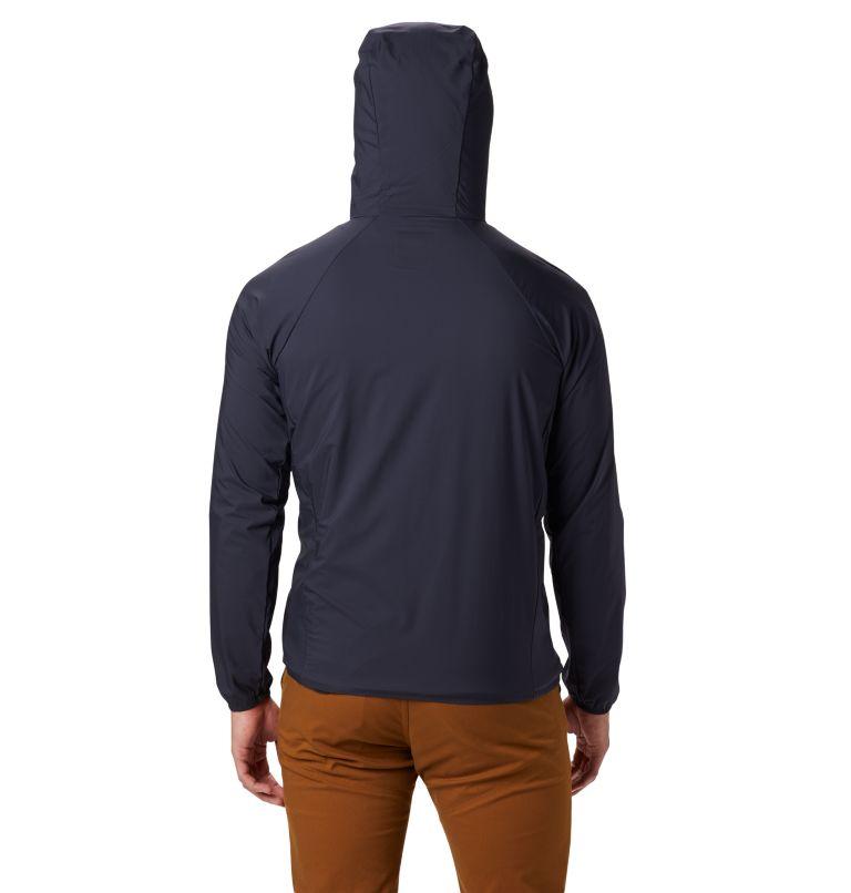 Kor Preshell™ Hoody | 406 | L Men's Kor Preshell™ Full Zip Hoody, Dark Zinc, back