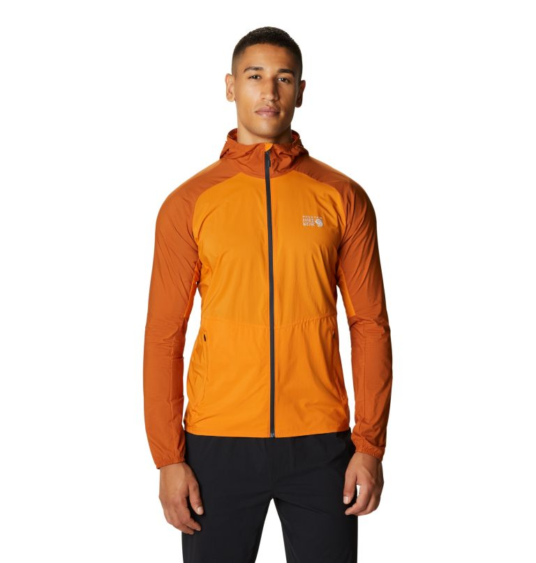 Kor Preshell™ Hoody | 858 | M Men's Kor Preshell™ Hoody, Instructor Orange, front