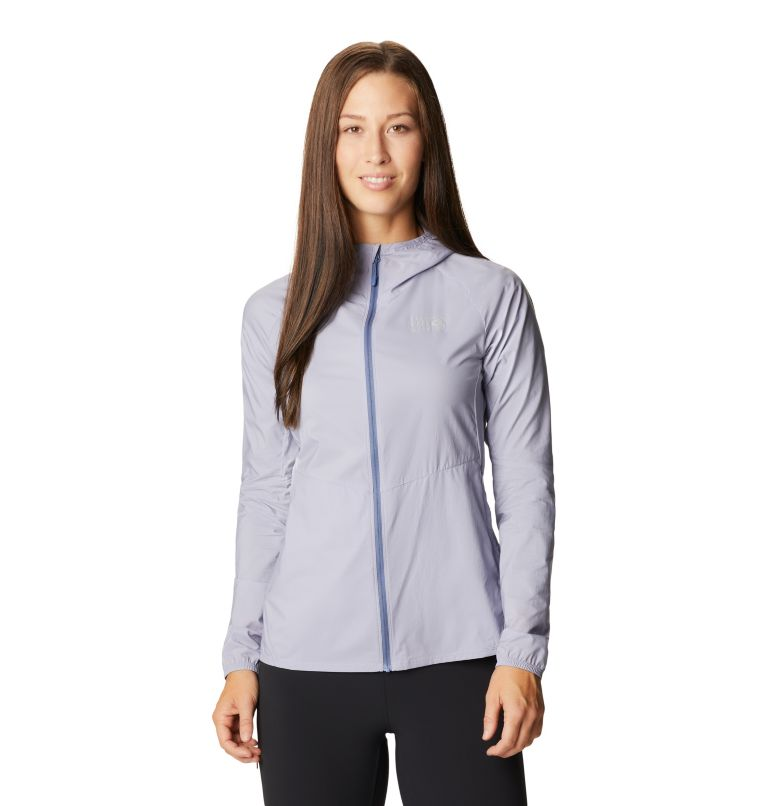 Kor Preshell™ Hoody | 558 | L Women's Kor Preshell™ Hoody, Frost Grey, front