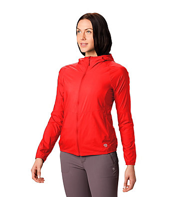 Women's Kor Preshell™ Hoody Kor Preshell™ Hoody | 447 | L, Fiery Red, front