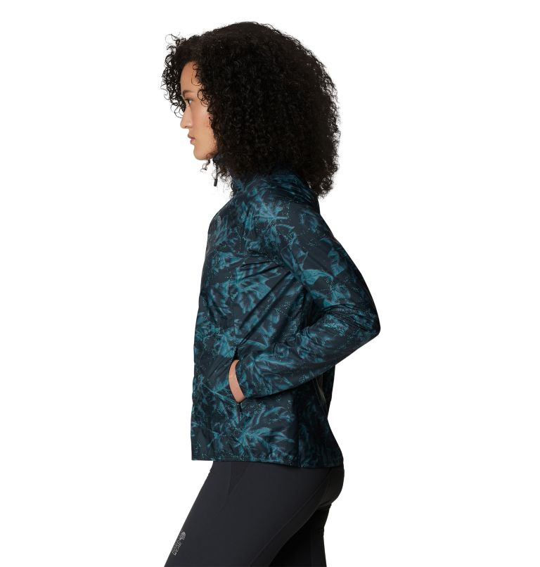 Kor Preshell™ Pullover | 006 | L Women's Kor Preshell™ Pullover, Dark Storm Glitch Print, a1