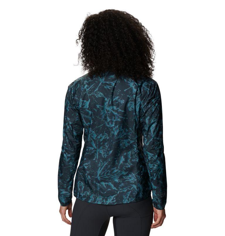 Kor Preshell™ Pullover | 006 | XS Women's Kor Preshell™ Pullover, Dark Storm Glitch Print, back