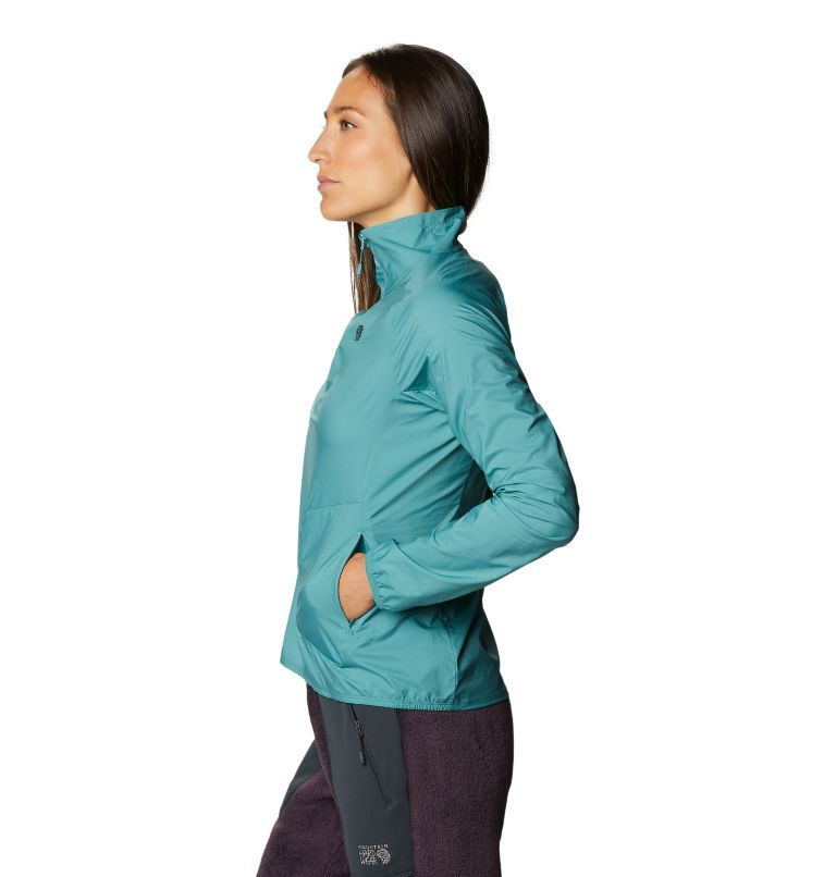 Kor Preshell™ Pullover | 447 | L Women's Kor Preshell™ Pullover, Washed Turq, a1