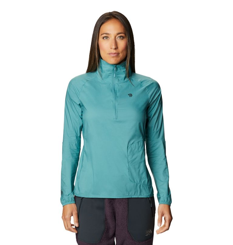 Kor Preshell™ Pullover | 447 | L Women's Kor Preshell™ Pullover, Washed Turq, front