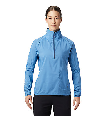 Women's Kor Preshell™ Pullover Kor Preshell™ Pullover | 012 | L, Deep Lake, front