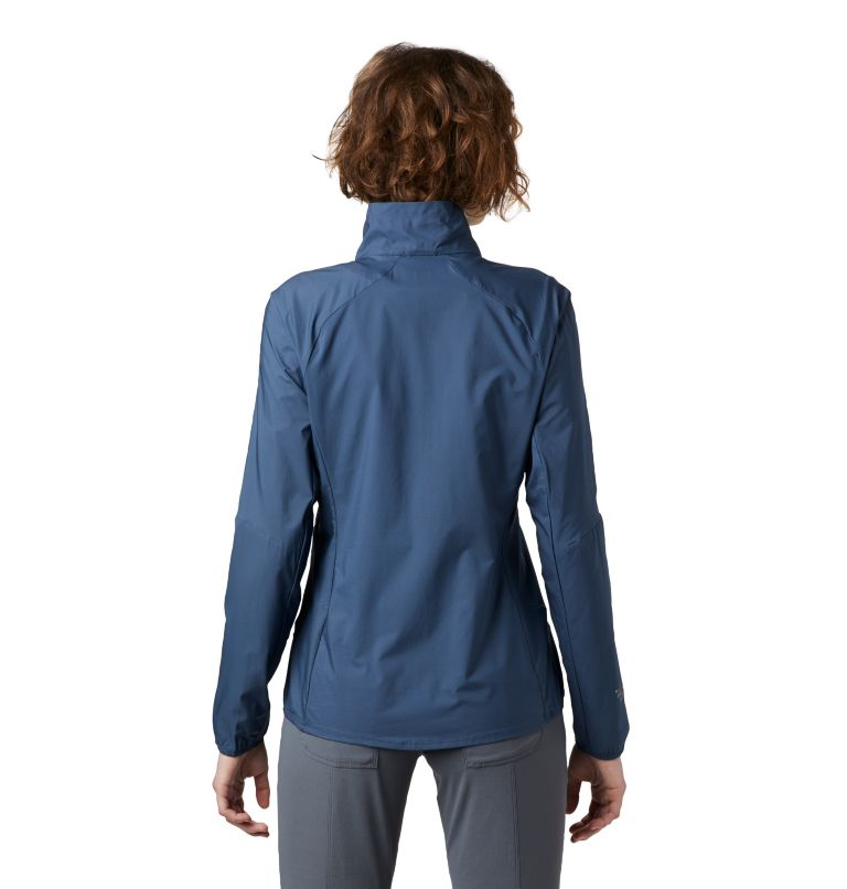 Kor Preshell™ Pullover | 492 | L Women's Kor Preshell™ Pullover, Zinc, back