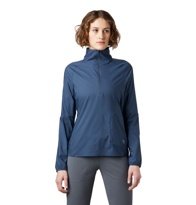 Kor Preshell™ Pullover | 492 | L Women's Kor Preshell™ Pullover, Zinc, front
