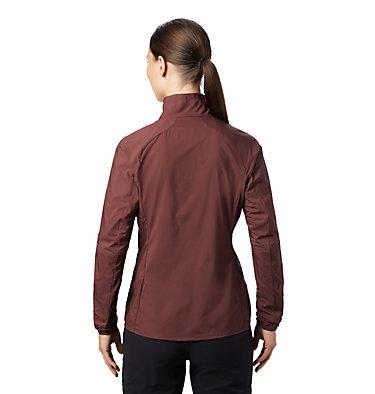 Women's Kor Preshell™ Pullover Kor Preshell™ Pullover | 012 | L, Washed Raisin, back