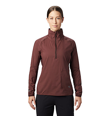 Women's Kor Preshell™ Pullover Kor Preshell™ Pullover | 012 | L, Washed Raisin, front