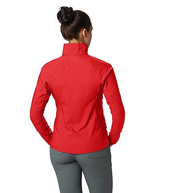 Women's Kor Preshell™ Pullover Kor Preshell™ Pullover | 012 | L, Fiery Red, back