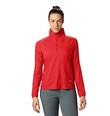 Women's Kor Preshell™ Pullover Kor Preshell™ Pullover | 012 | L, Fiery Red, front