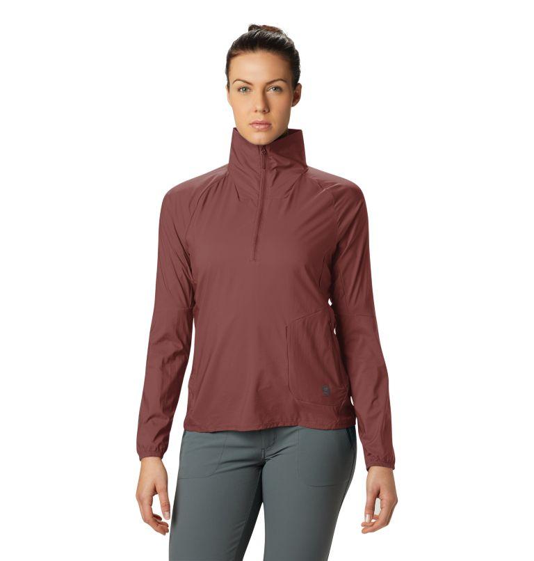 Kor Preshell™ Pullover | 643 | L Women's Kor Preshell™ Pullover, Clay Earth, front