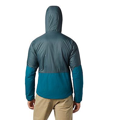Men's Compressor™ Hoody Compressor™ Hoody | 310 | L, Blue Spruce, back