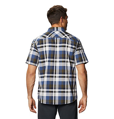 Men's Big Cottonwood™ Short Sleeve Shirt Big Cottonwood™ Short Sleeve Shirt | 643 | L, Stone, back