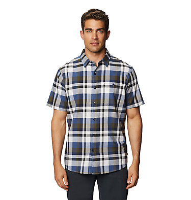 Men's Big Cottonwood™ Short Sleeve Shirt Big Cottonwood™ Short Sleeve Shirt | 643 | L, Stone, front