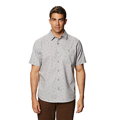 Men's Big Cottonwood™ Short Sleeve Shirt Big Cottonwood™ Short Sleeve Shirt | 643 | L, Light Dunes, front