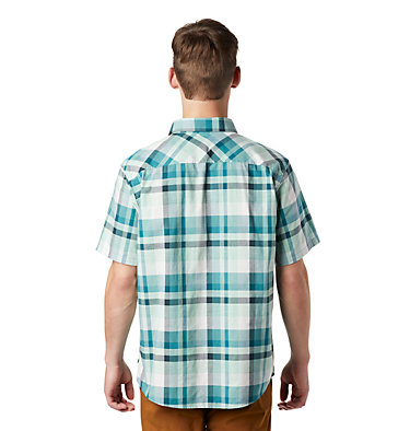 Men's Big Cottonwood™ Short Sleeve Shirt Big Cottonwood™ Short Sleeve Shirt | 354 | S, Washed Turq, back