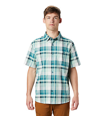Men's Big Cottonwood™ Short Sleeve Shirt Big Cottonwood™ Short Sleeve Shirt | 354 | S, Washed Turq, front