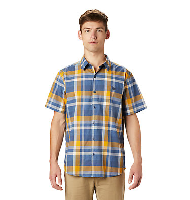 Men's Big Cottonwood™ Short Sleeve Shirt Big Cottonwood™ Short Sleeve Shirt | 354 | S, Better Blue, front