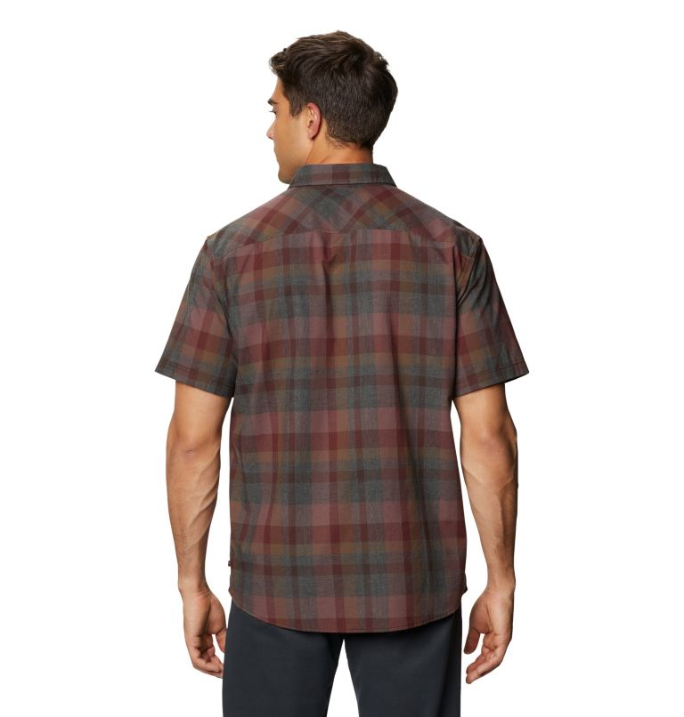 Big Cottonwood™ Short Sleeve Shirt | 629 | XXL Men's Big Cottonwood™ Short Sleeve Shirt, Washed Raisin, back