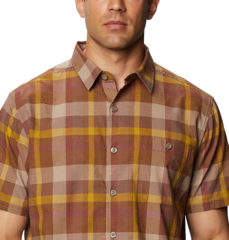 Big Cottonwood™ Short Sleeve Shirt | 643 | XL Men's Big Cottonwood™ Short Sleeve Shirt, Clay Earth, a2