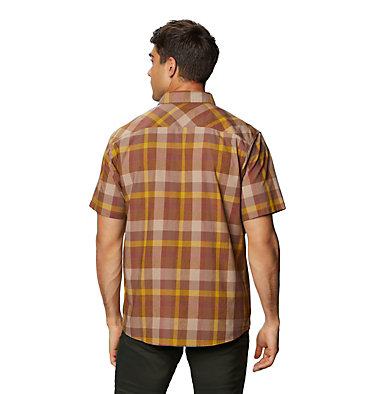 Men's Big Cottonwood™ Short Sleeve Shirt Big Cottonwood™ Short Sleeve Shirt | 643 | L, Clay Earth, back