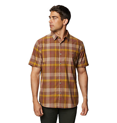 Men's Big Cottonwood™ Short Sleeve Shirt Big Cottonwood™ Short Sleeve Shirt | 643 | L, Clay Earth, front