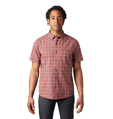 Men's Big Cottonwood™ Short Sleeve Shirt Big Cottonwood™ Short Sleeve Shirt | 354 | S, Washed Rock, front