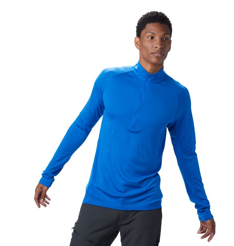 Diamond Peak™ 1/2 Zip | 438 | M Men's Diamond Peak™ 1/2 Zip, Altitude Blue, front