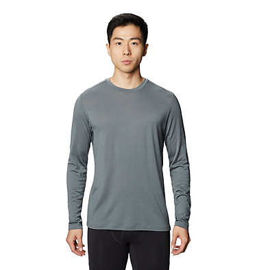 Men's Diamond Peak™ Long Sleeve T-Shirt Diamond Peak™ Long Sleeve T | 493 | L, Light Storm, front