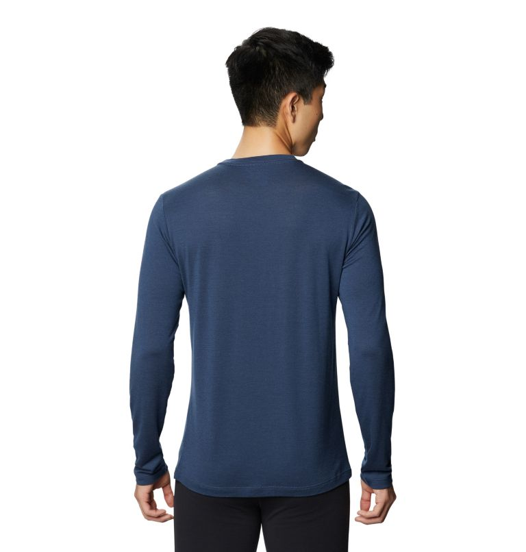 Diamond Peak™ Long Sleeve T | 493 | L Men's Diamond Peak™ Long Sleeve T, Zinc, back