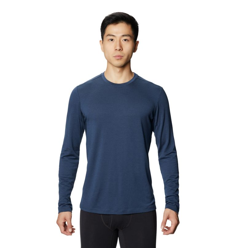 Diamond Peak™ Long Sleeve T | 493 | L Men's Diamond Peak™ Long Sleeve T, Zinc, front