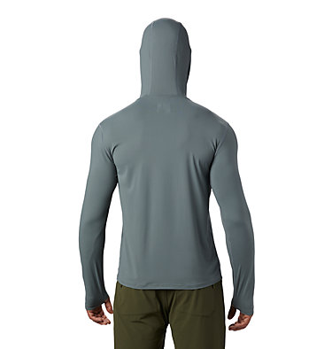 Men's Crater Lake™ Long Sleeve Hoody  Crater Lake™ Long Sleeve Hoody | 054 | L, Light Storm, back