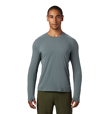 Men's Crater Lake™ Long Sleeve T-Shirt  Crater Lake™ Long Sleeve T | 452 | L, Light Storm, front