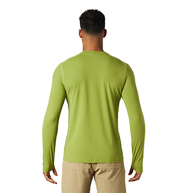 Men's Crater Lake™ Long Sleeve T-Shirt  Crater Lake™ Long Sleeve T | 452 | L, Just Green, back