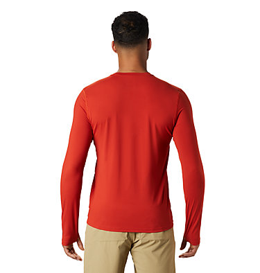 Men's Crater Lake™ Long Sleeve T-Shirt  Crater Lake™ Long Sleeve T | 452 | L, Desert Red, back