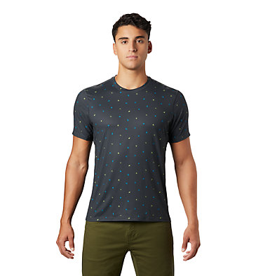 Men's Crater Lake™ Short Sleeve T-Shirt  Crater Lake™ Short Sleeve T | 345 | L, Dark Storm Cam Print, front